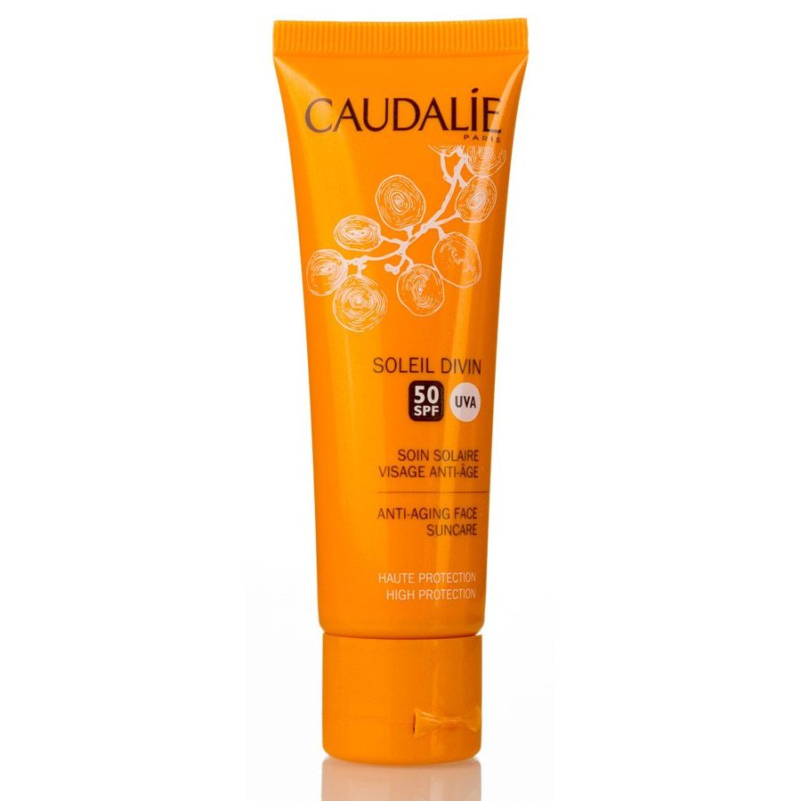 Caudalie Soleil Divin Anti-Ageing High Protection Face Suncare SPF50 40ml