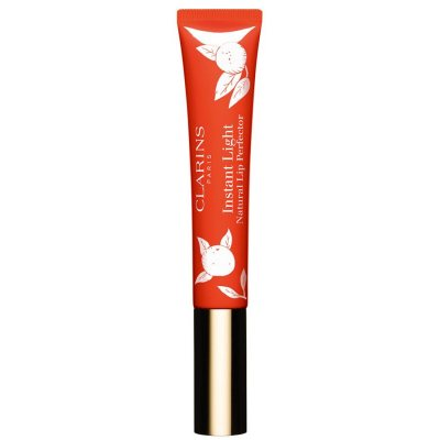 Clarins Instant Light Natural Lip Perfector Tube #14 Juicy Mandarin 12ml