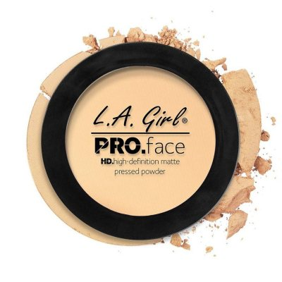 L.A. Girl Pro Face Matte Pressed Powder 02 Classic Ivory