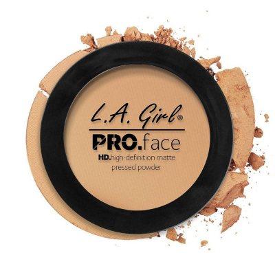 L.A. Girl Pro Face Matte Pressed Powder 08 Soft Honey