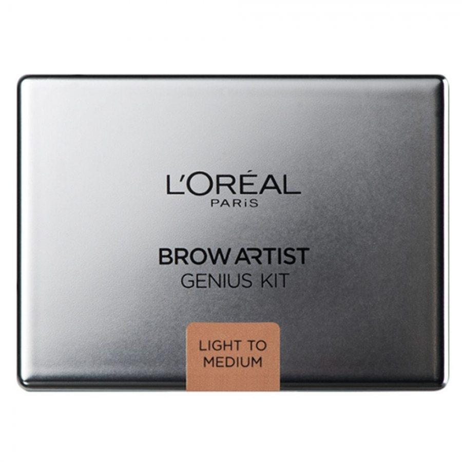 L'Oreal Brow Artist Genius Kit Light To Medium 3,5g