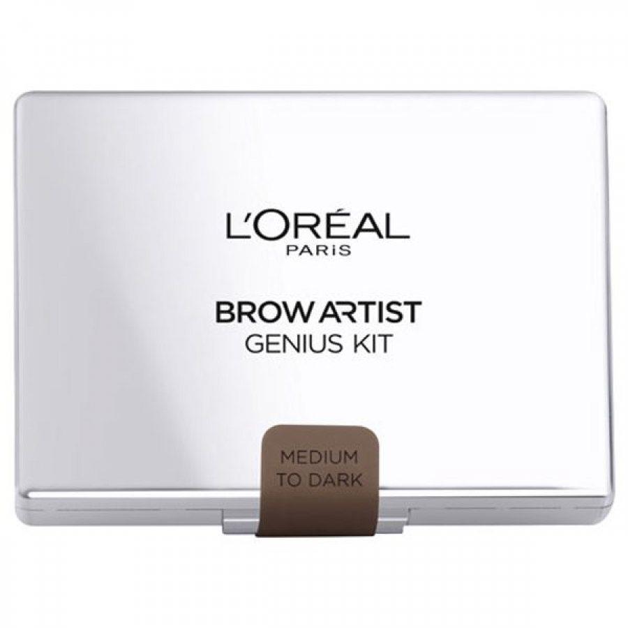 L'Oreal Brow Artist Genius Kit Medium To Dark 3,5g