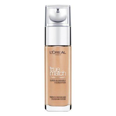 L'Oreal True Match Liquid Foundation 8W Golden Cappuccino 30ml