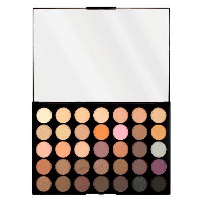Makeup Revolution HD Palette Matte Amplified 35 Neutrals Warm