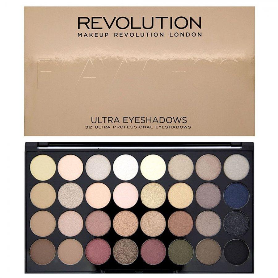 Makeup Revolution Ultra 32 Shade Eyeshadow Palette Flawless