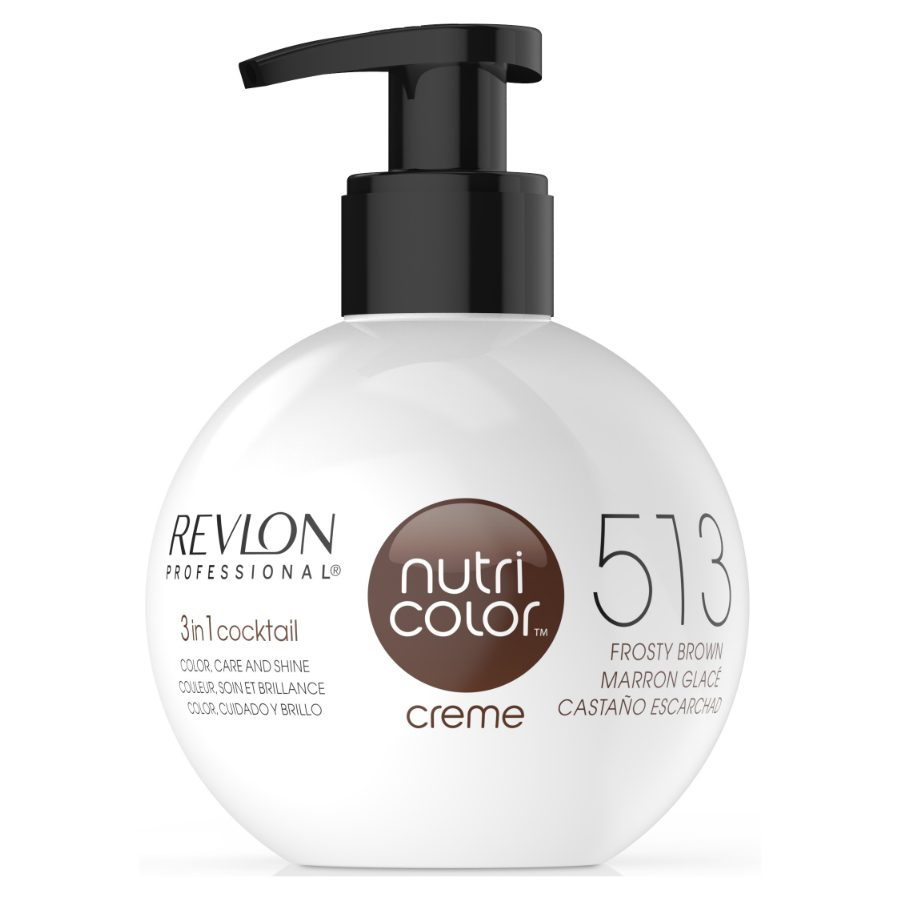 Revlon Nutri Color Creme 513 Frosty Brown 270ml