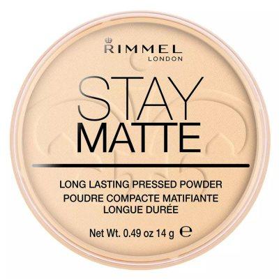 Rimmel Stay Matte Pressed Powder 001 Transparent 14g