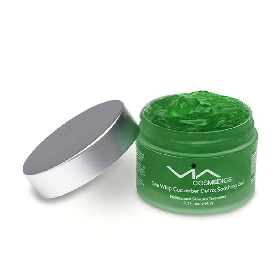 VIA Cosmedics Sea Whip Cucomber Detox Soothing Gel